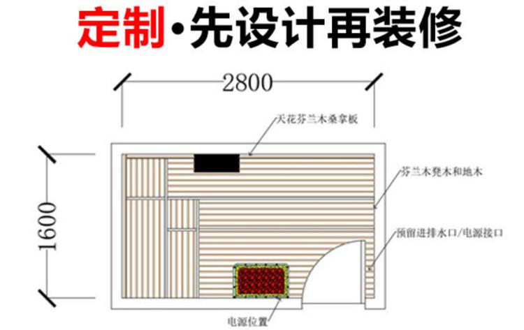 深圳家庭汗蒸房品牌定制